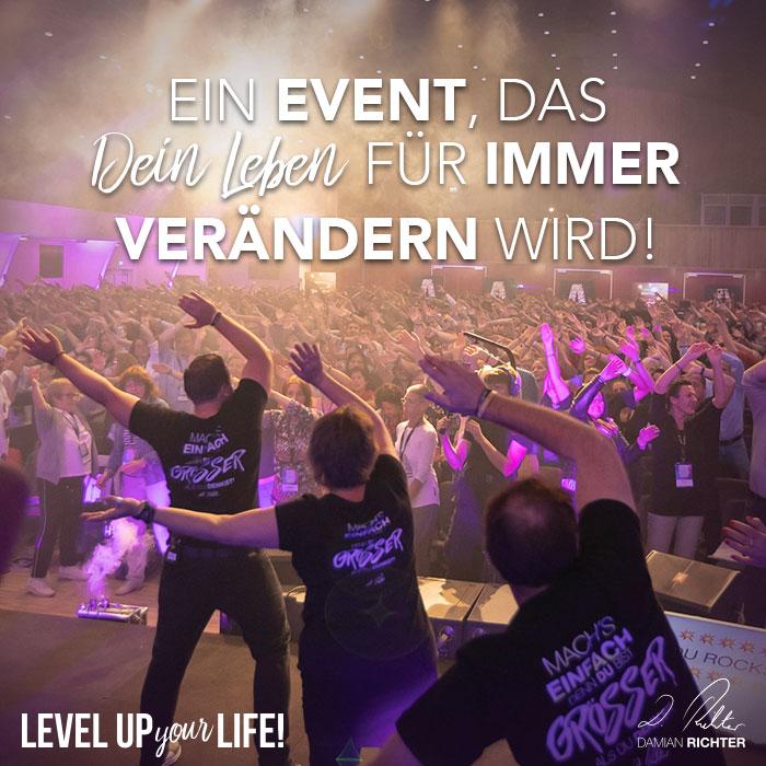 Ein Event, das Dein Leben für immer verändern wird!