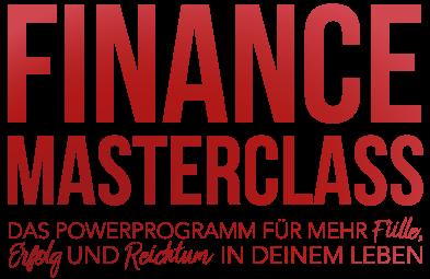 LOGO der Finance Masterclass aus der Life Design Academy von Damian Richter