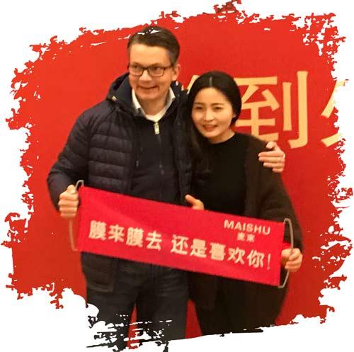 Damian auf seiner China Reise