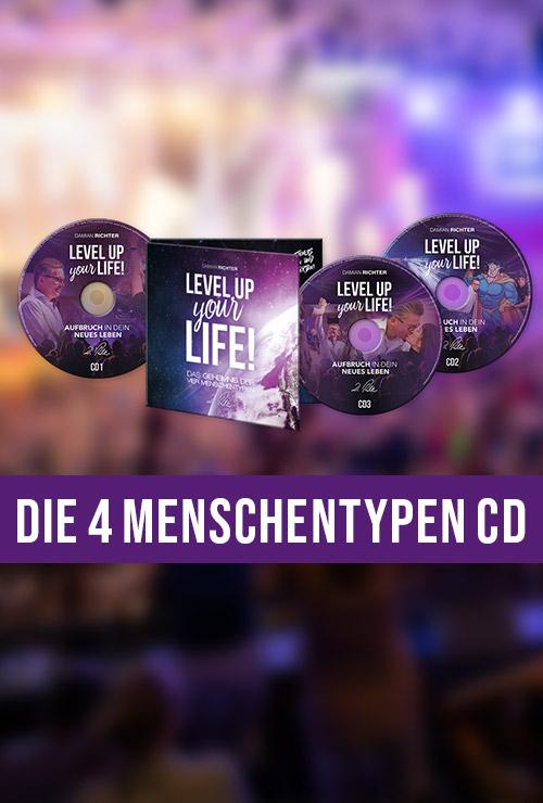 DamianRichter_Level-up-your-Life-CD_die-vier-Menschentypen