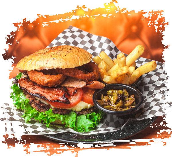 gesund leben statt Burger essen