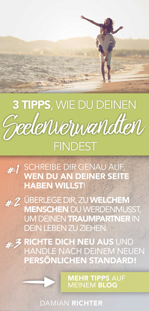 2 Tipps zum Seelenpartner finden