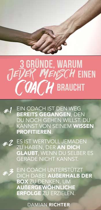 3 Gründe warum Du einen Coach brauchst