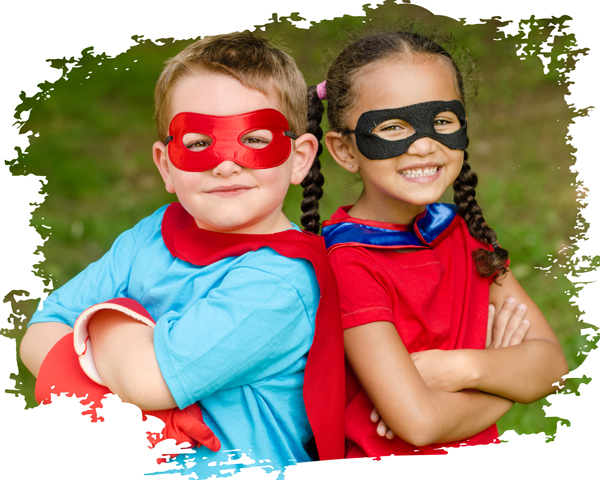 superhelden Rollen im Leben