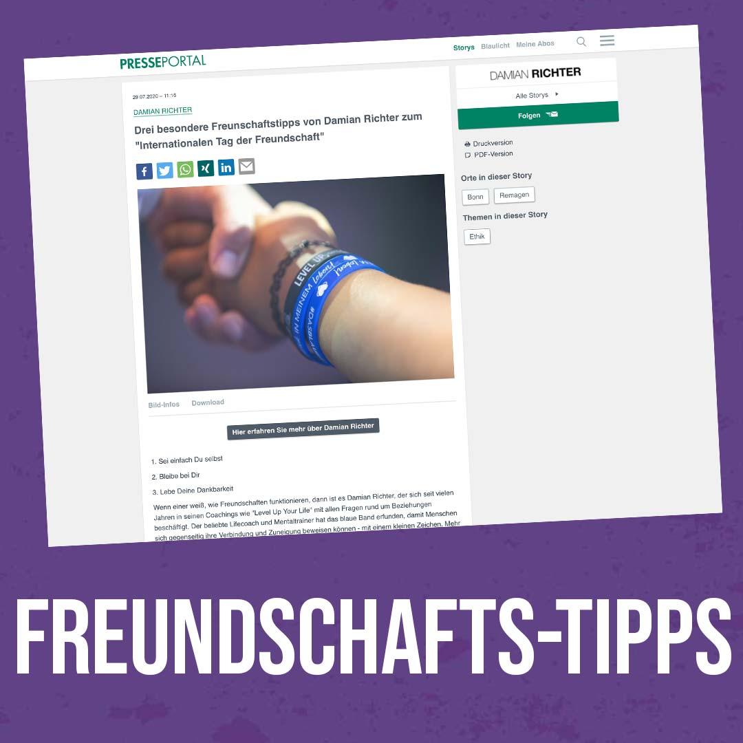 Damian-Richter_Presseportal_Freundschaftstipps