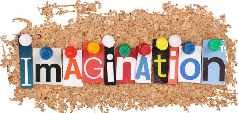 vision board imagination