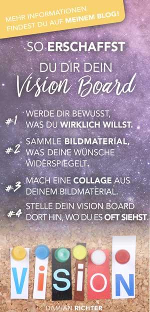 erschaffe Dein vision board