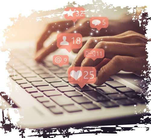 sichtbar werden mit social media